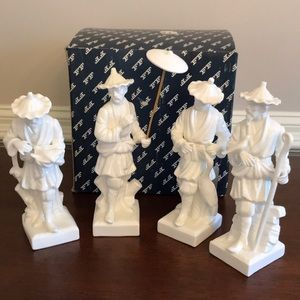 RARE Fitz and Floyd Chinese Figurines in box.